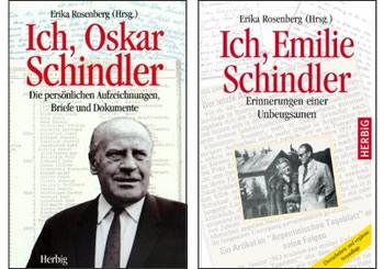 Professor Dr. Erika Rosenberg liest aus den Biographien von Oskar und Emilie Schindler