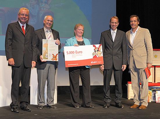 Verleihung des Bibliothekspreises an die Stadtbücherei Obernburg a.Main