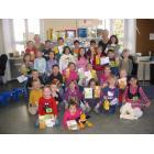 Besuche Kindergarten Sonnenschein und Regenbogen, Frau Berninger