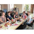 Abschlussfrühstück mit dem Lesekompass- und Bibfit-Team