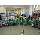 Besuch Kindergarten Sonnenhügel in der Stadtbücherei