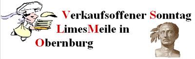 Verkaufsoffener Sonntag LimesMeile in Obernburg