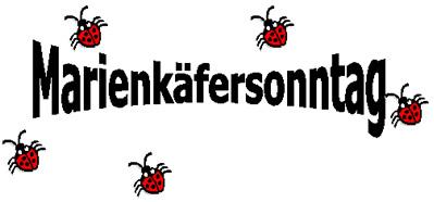 Marienkäfersonntag in der Stadtbücherei Obernburg
